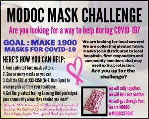 Modoc Mask Challenge